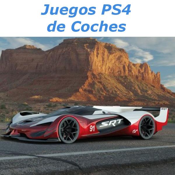 juegos ps4 coches