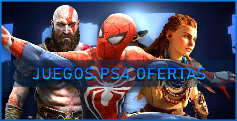 Juegos PS4 ofertas