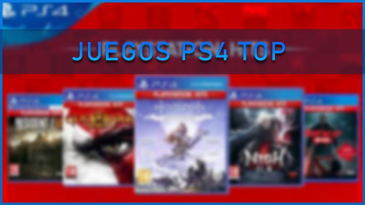 Juegos PS4 top